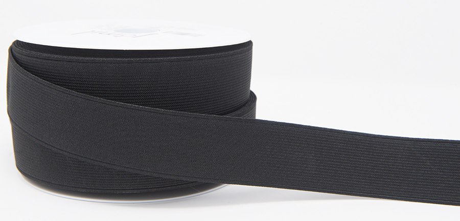 35mm Elastic Black